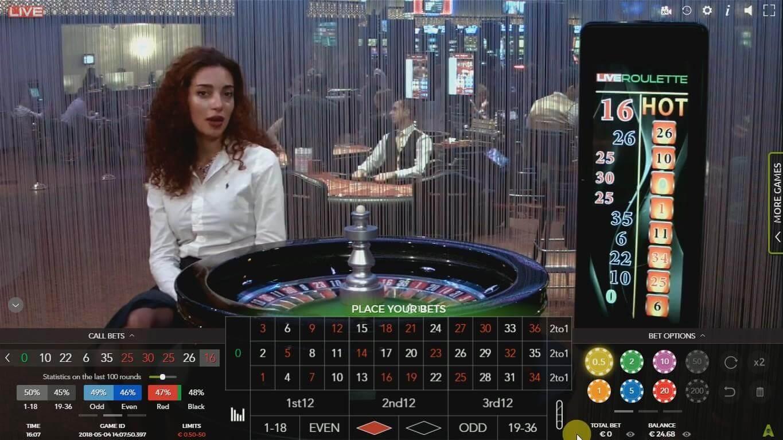 gry online ruletka z krupierem na żywo
